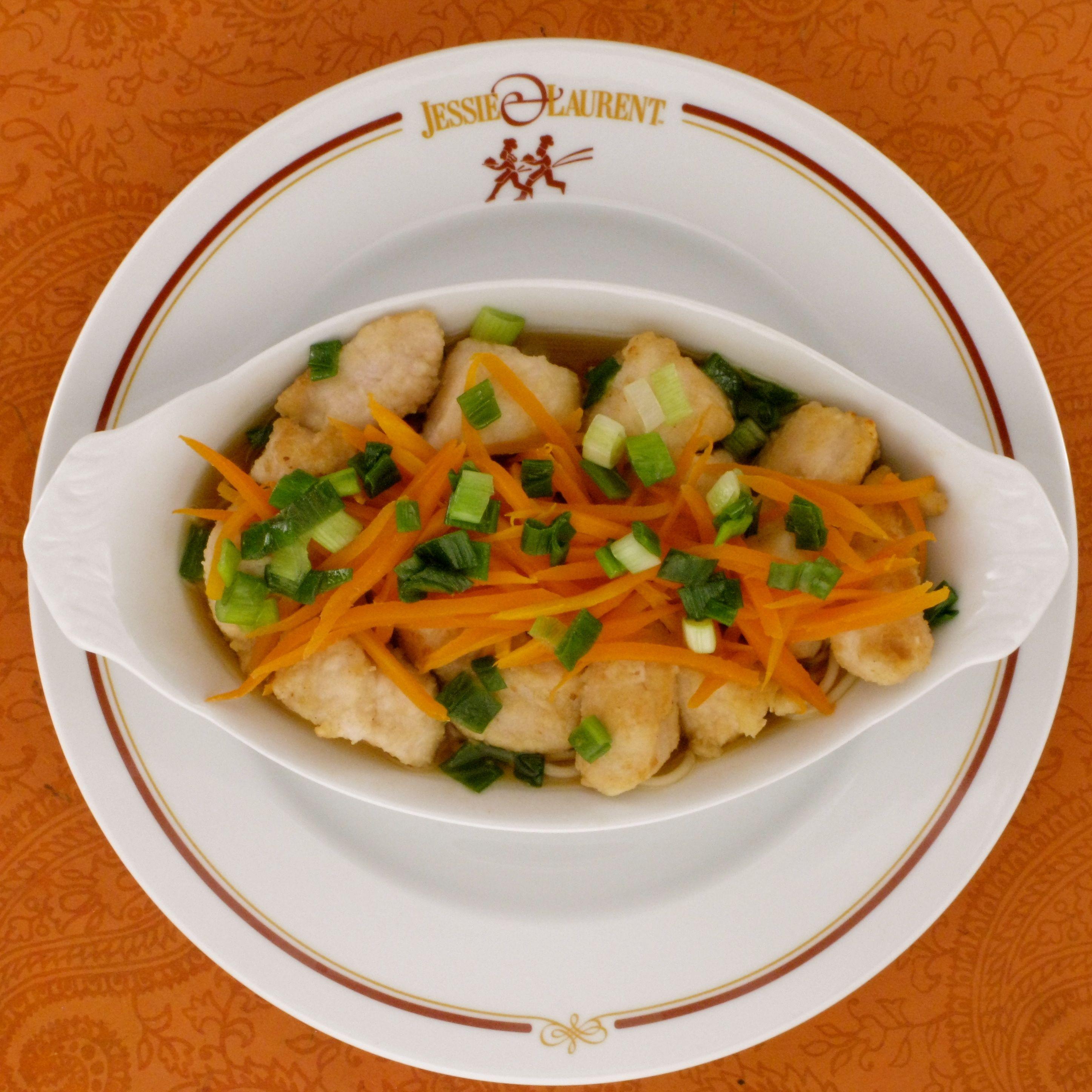 Chicken Kuwayski with Organic Japanese Noodles