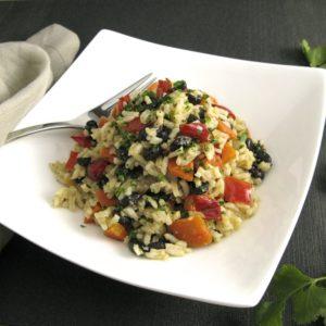 Southwestern Black Beans & Rice