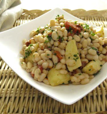 Tuscan White Bean and Potato Salad