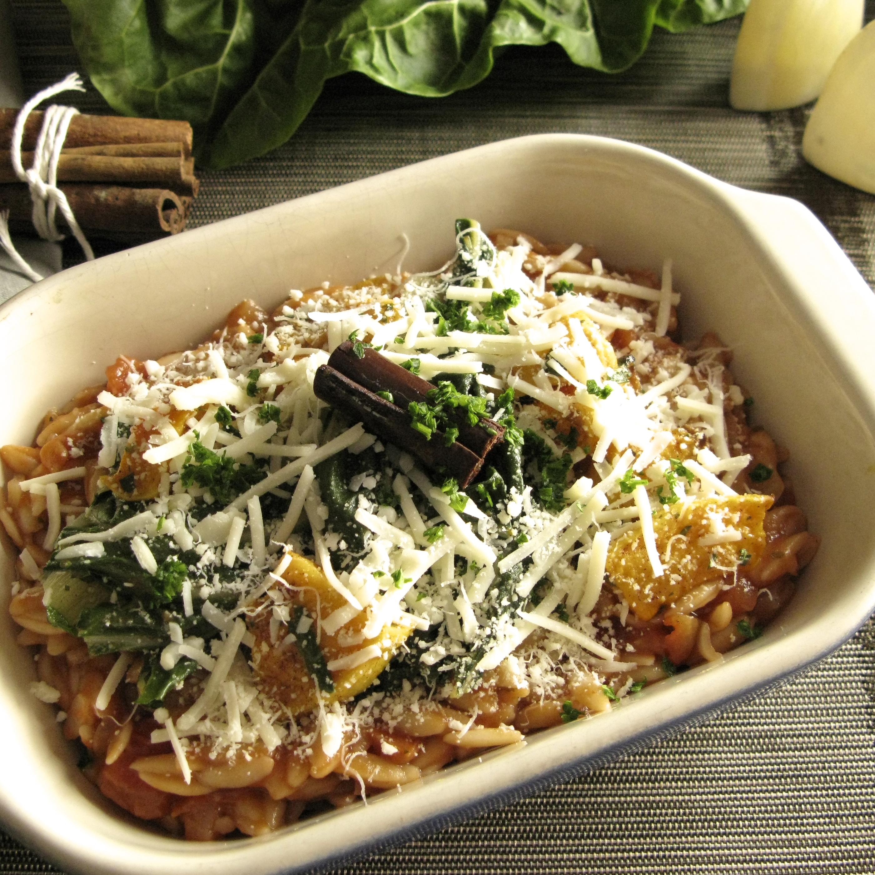 Vegetarian Shell Pasta Casserole