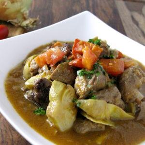 Niman Ranch Lamb & Artichoke Stew