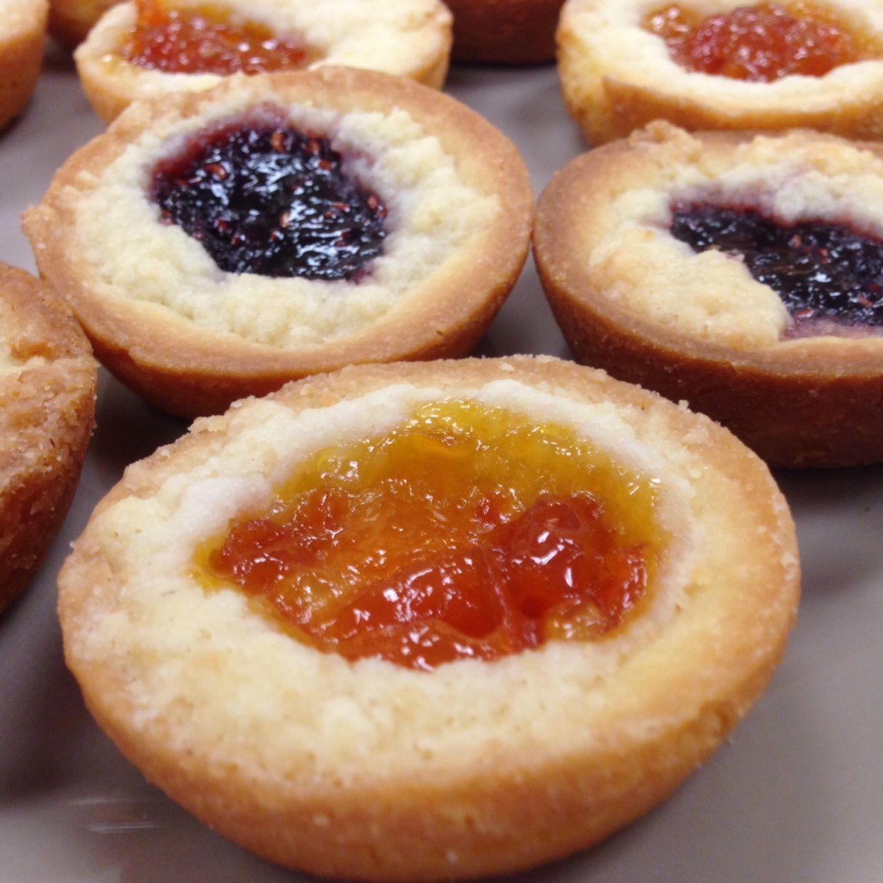 Apricot & Raspberry Shortbread Jammies