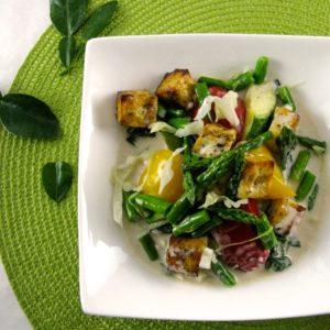 Thai Vegetables & Organic Tofu with Coconut Basil Sauce