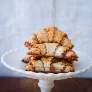 Raspberry Rugelach Cookies