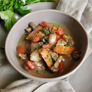 Classic Style Lamb Stew