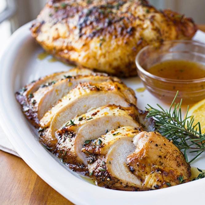 Half Diestel Organic Oven Roasted Turkey with Velvet Gravy