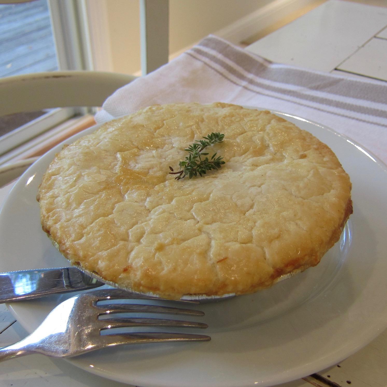 Rustic Braised Vegetable Pot Pie