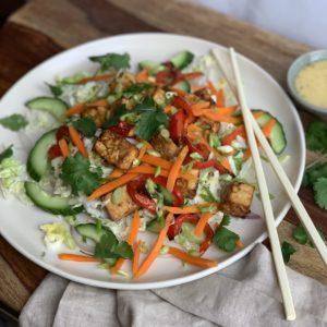 Vietnamese 5-Spice Tofu Salad