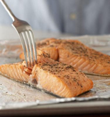 Fresh Baked Salmon Filets