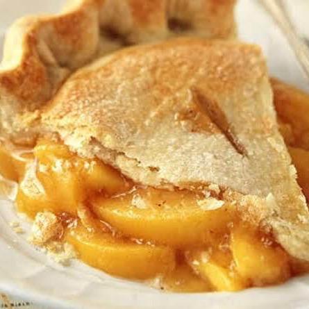 Juicy Peach Pie
