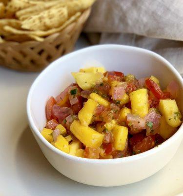 Mango Papaya Salsa