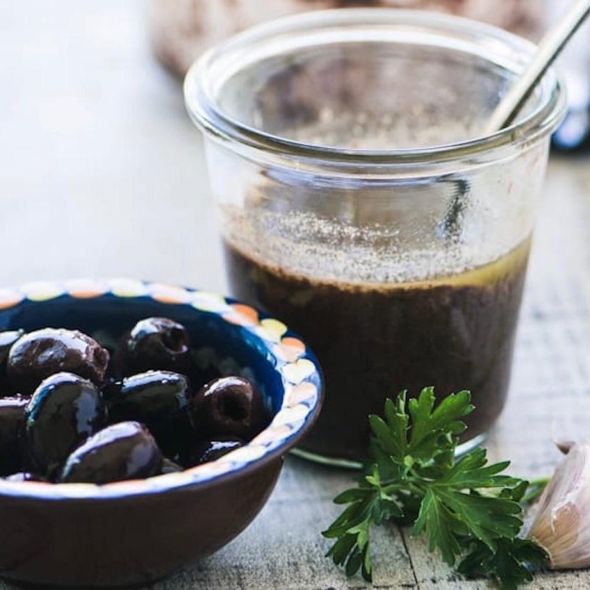 Olive Vinaigrette with Fresh Oregano