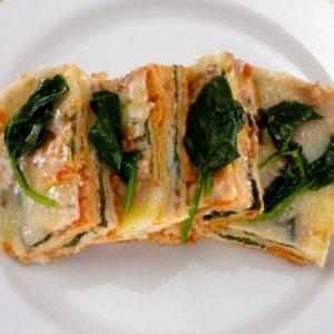 Vegetarian Chilaquiles Casserole