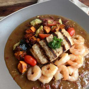 """Seafood & Roasted Vegetable """"Bouillabaisse"""""""