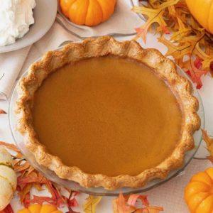 Amaretto Pumpkin Pie