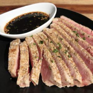 Toasted Sesame Crusted Ahi Tuna Filets