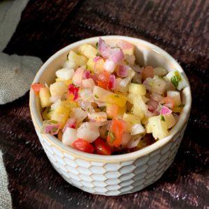 Pineapple Jicama Salsa