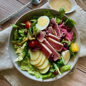 Niçoise Salad with Grilled Ahi Tuna Filet