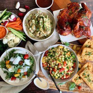 Summer BBQ Picnic Feast