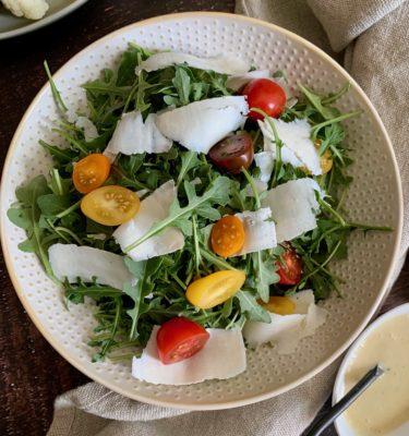 Arugula Salad with Ricotta Salata