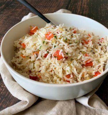 Tarragon Herb Infused Rice Pilaf