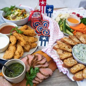Fourth of July BBQ Feast
