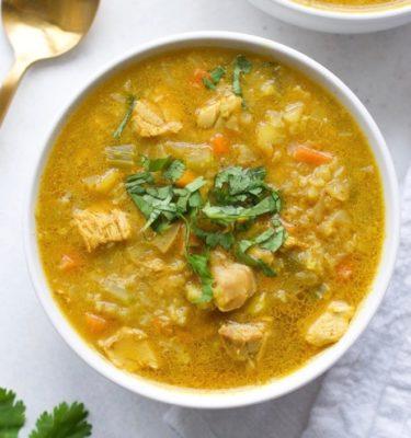 Indian Chicken Mulligatawny Soup