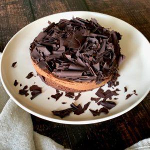 Fallen Angel Chocolate Cake