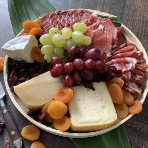 Local Artisan Cheese & Charcuterie Platter