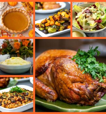 Traditional Whole Oven Roasted Diestel Turkey Dinner ~ Serves 8-10