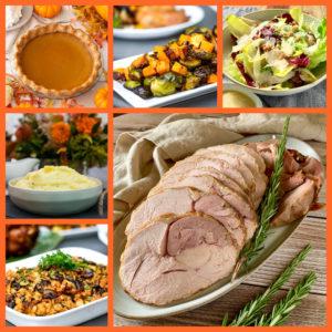 Carved Off The Bone Oven Roasted Diestel Turkey Dinner ~ Serves 4-6